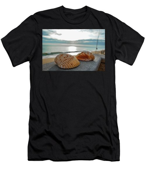 Sea Shells Men's T-Shirt (Athletic Fit)