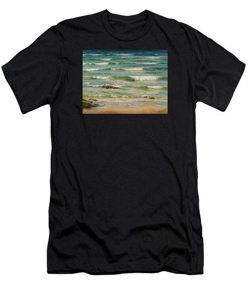 Sea Symphony. Part 1. Men's T-Shirt (Athletic Fit)