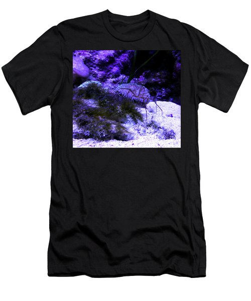 Men's T-Shirt (Athletic Fit) featuring the photograph Sea Spider by Francesca Mackenney