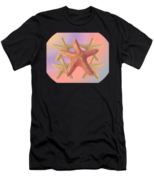 Sea Star Pastels Men's T-Shirt (Athletic Fit)