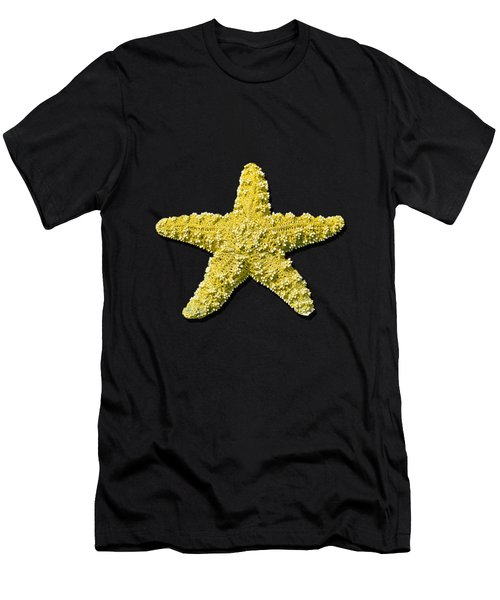 Sea Star Yellow .png Men's T-Shirt (Athletic Fit)