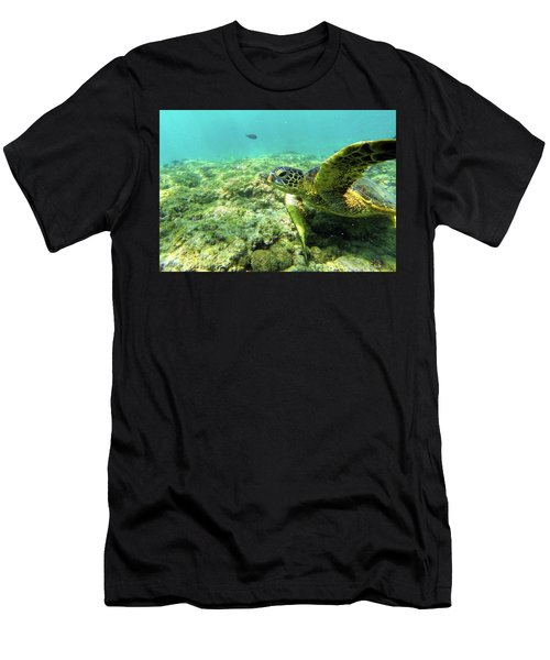 Sea Turtle #2 Men's T-Shirt (Athletic Fit)