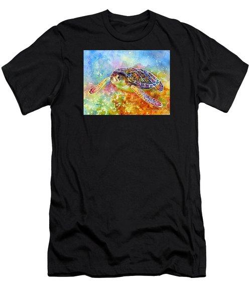 Sea Turtle 3 Men's T-Shirt (Athletic Fit)
