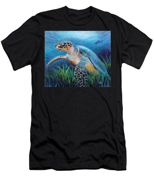 Sea Turtle Cove Men's T-Shirt (Athletic Fit)