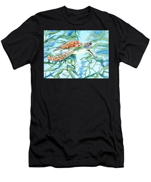 Sea Turtle Series #1 Men's T-Shirt (Athletic Fit)
