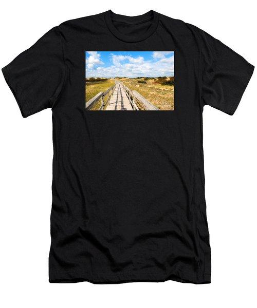 Seabound Boardwalk Men's T-Shirt (Athletic Fit)