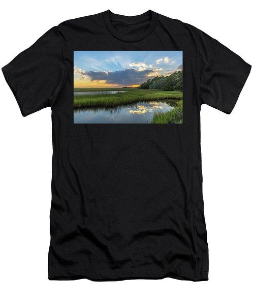 Seabrook Island Sunrays Men's T-Shirt (Athletic Fit)