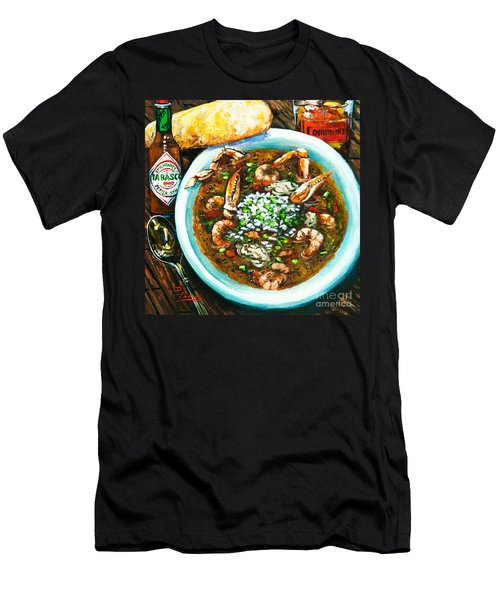 Seafood Gumbo Men's T-Shirt (Athletic Fit)