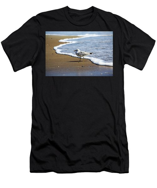 Men's T-Shirt (Athletic Fit) featuring the photograph Seagull by David Chandler