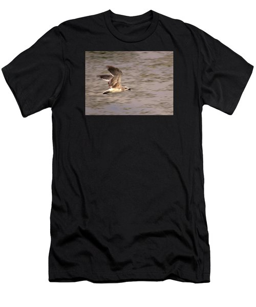 Seagull Flight Men's T-Shirt (Athletic Fit)