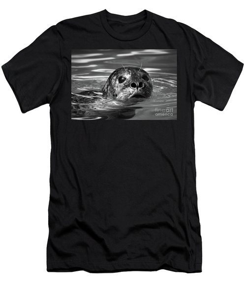 Seal In Water Men's T-Shirt (Athletic Fit)