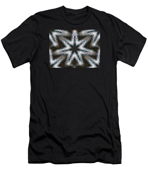 Seamless Mountain Star Men's T-Shirt (Athletic Fit)