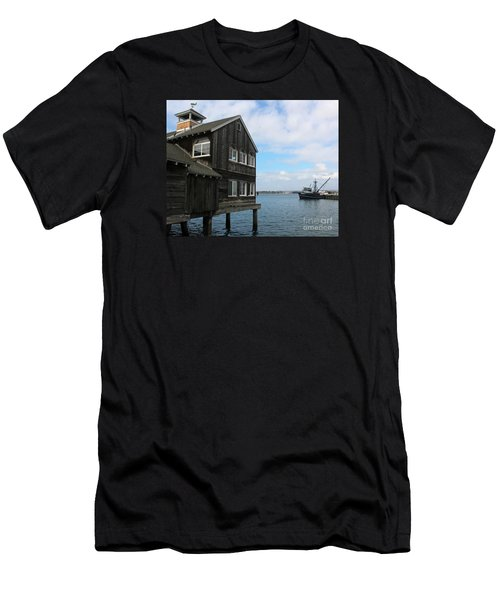 Seaport Village San Diego Men's T-Shirt (Athletic Fit)