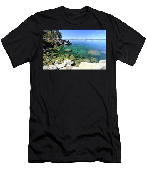 Men's T-Shirt (Athletic Fit) featuring the photograph Search Her Depths  by Sean Sarsfield