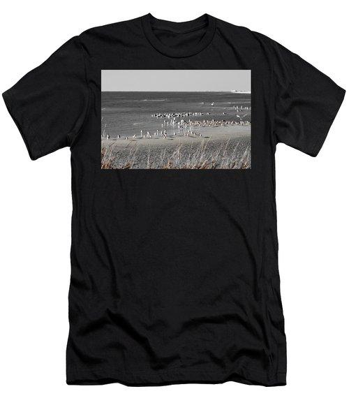 Seascape Gulf Coast, Ms F10n Men's T-Shirt (Athletic Fit)
