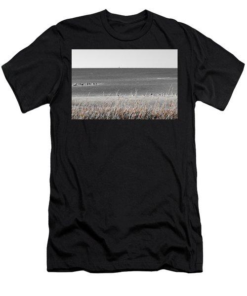 Seascape Gulf Coast, Ms F10p Men's T-Shirt (Athletic Fit)