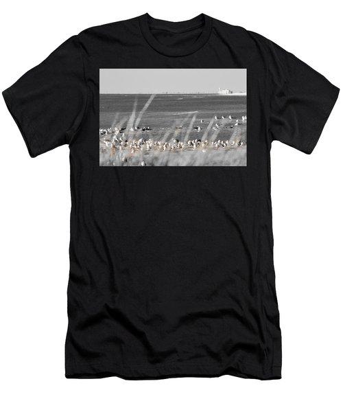 Seascape Gulf Coast, Ms F10w Men's T-Shirt (Athletic Fit)