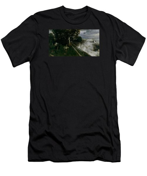 Seaside Cemetery Men's T-Shirt (Athletic Fit)