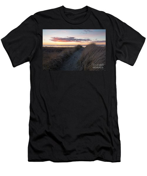 Seaside Trail Men's T-Shirt (Athletic Fit)
