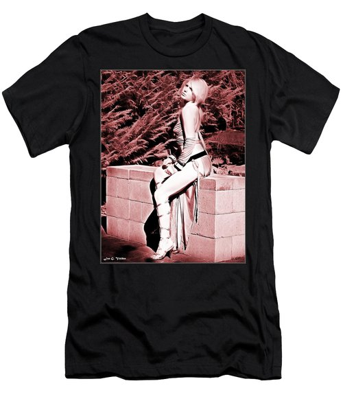Seated Slave Girl Men's T-Shirt (Athletic Fit)