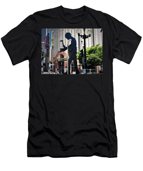 Seattle Art Men's T-Shirt (Athletic Fit)