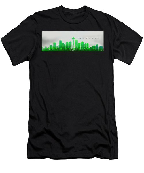 Seattle Greens Men's T-Shirt (Athletic Fit)