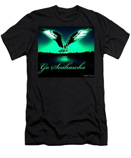 Seattle Seahawks Men's T-Shirt (Slim Fit) by Eddie Eastwood