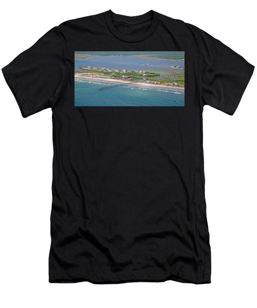 Seaview Fishing Pier Topsail Island Men's T-Shirt (Athletic Fit)