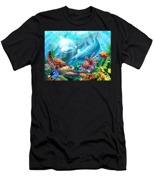 Seavilians 1 Men's T-Shirt (Athletic Fit)