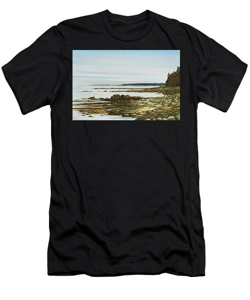 Seawall Mt. Desert Island Men's T-Shirt (Athletic Fit)