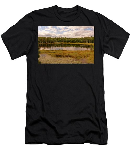 Secluded Lake Men's T-Shirt (Athletic Fit)