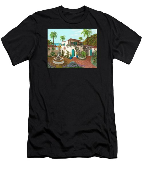 Secluded Paradise Men's T-Shirt (Athletic Fit)
