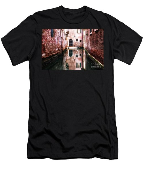Men's T-Shirt (Athletic Fit) featuring the photograph Secluded Venice by Miles Whittingham