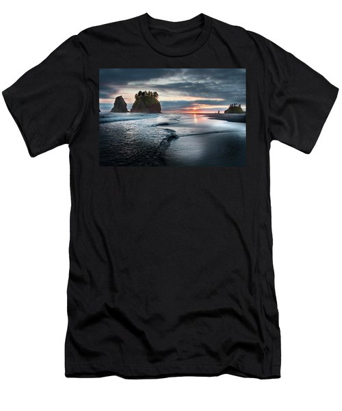 Second Beach #1 Men's T-Shirt (Athletic Fit)