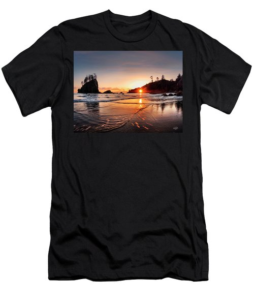Second Beach 3 Men's T-Shirt (Athletic Fit)