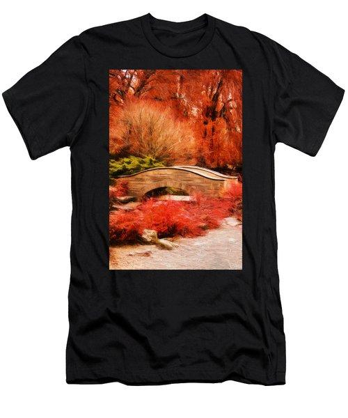 Secret Footbridge Men's T-Shirt (Athletic Fit)