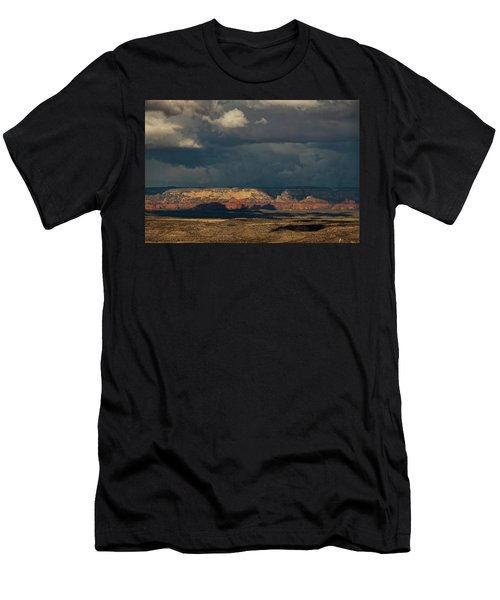Secret Mountain Wilderness Storm Men's T-Shirt (Athletic Fit)