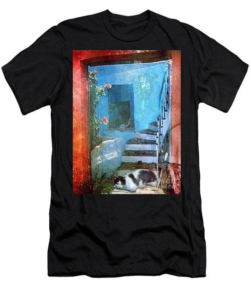 Secret Space Men's T-Shirt (Athletic Fit)