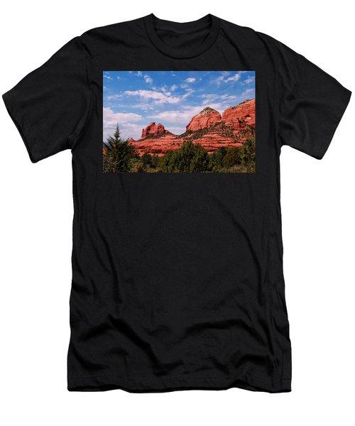 Sedona Az Men's T-Shirt (Slim Fit) by Tom Prendergast