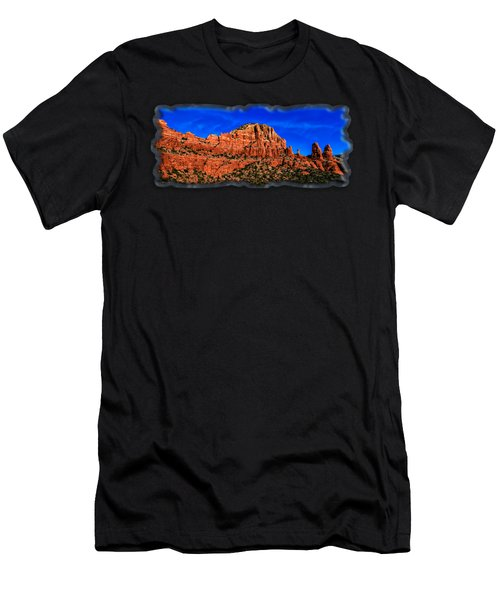 Men's T-Shirt (Athletic Fit) featuring the photograph Sedona Extravaganza by Mark Myhaver