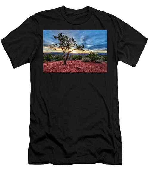 Sedona In The Morning Men's T-Shirt (Athletic Fit)
