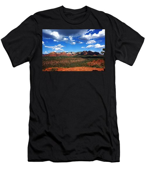 Sedona Men's T-Shirt (Slim Fit) by Julia Ivanovna Willhite
