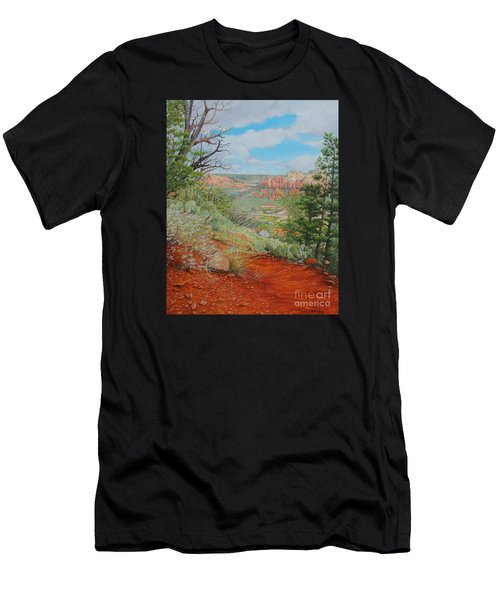 Sedona Trail Men's T-Shirt (Athletic Fit)