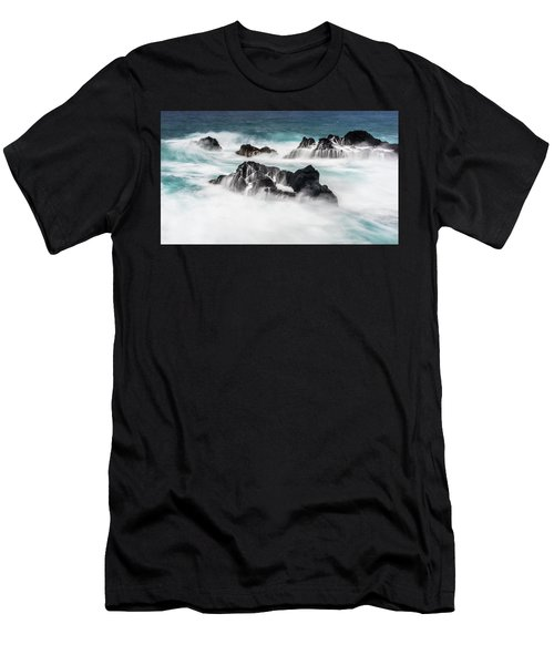 Seduced By Waves Men's T-Shirt (Athletic Fit)
