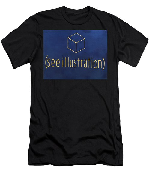 See Illustration Men's T-Shirt (Athletic Fit)