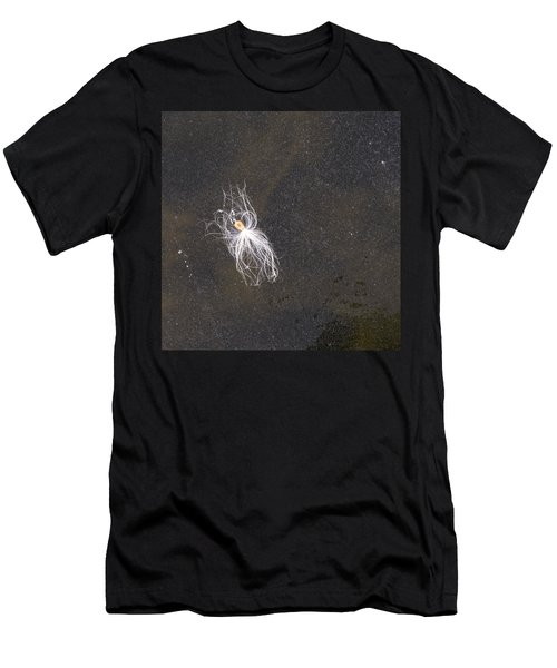Seed On Ice - Lake Wingra - Madison - Wisconsin Men's T-Shirt (Athletic Fit)