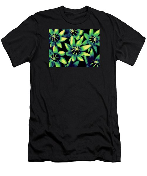 Men's T-Shirt (Slim Fit) featuring the photograph Seed Pods by Ranjini Kandasamy