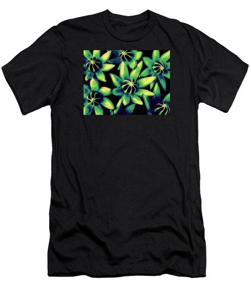 Seed Pods Men's T-Shirt (Slim Fit) by Ranjini Kandasamy