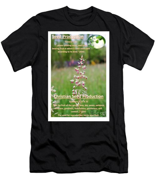Seed Production Men's T-Shirt (Athletic Fit)