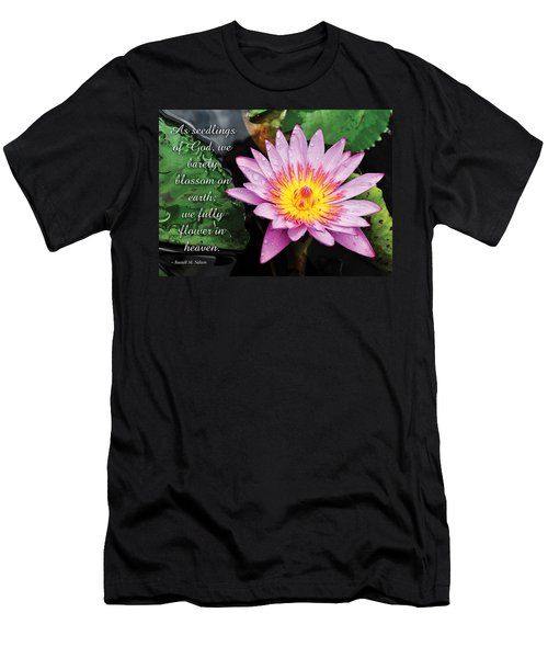 Seedlings Of God Men's T-Shirt (Athletic Fit)
